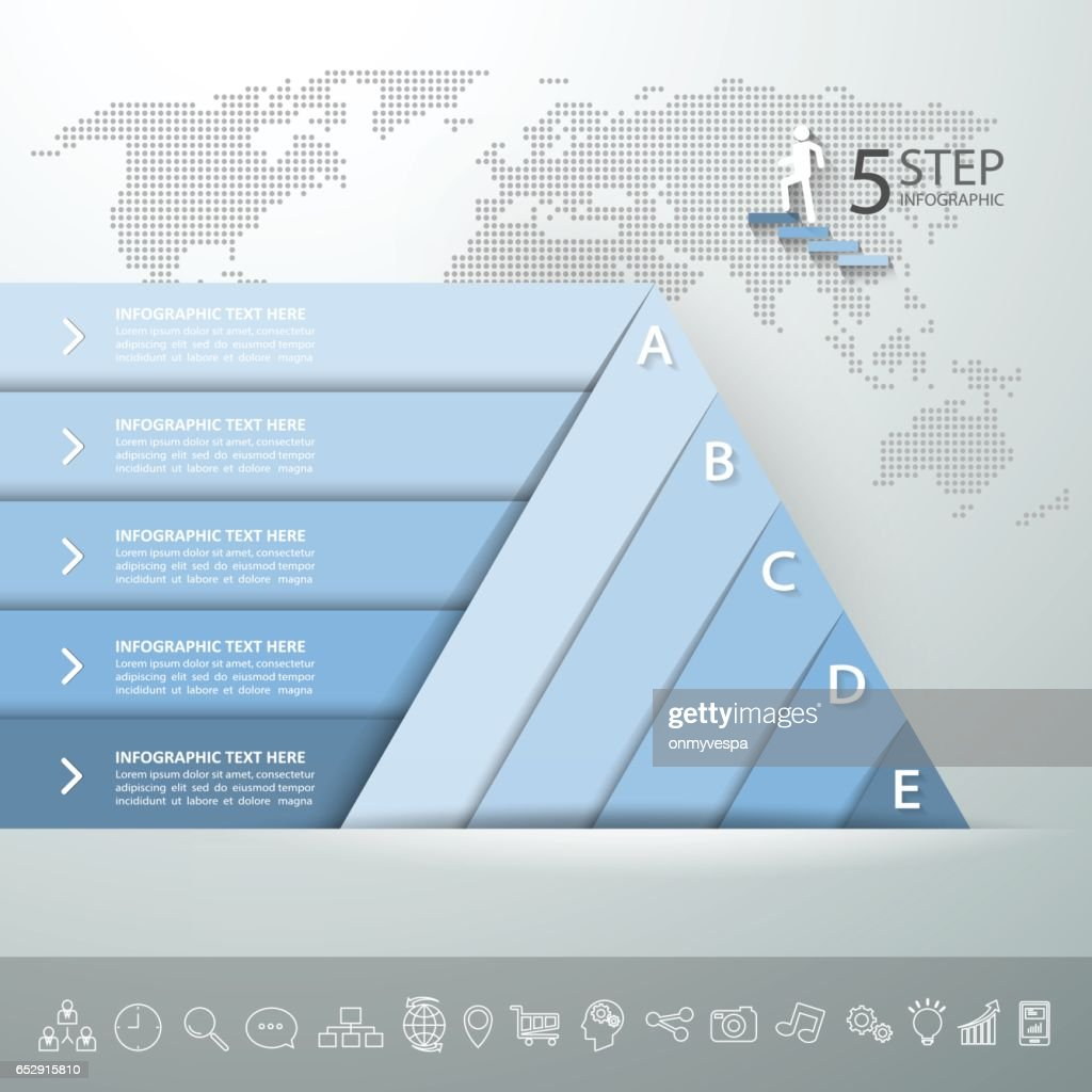 Design Pyramid Infographic Template Business Concept Infographic 5 ...