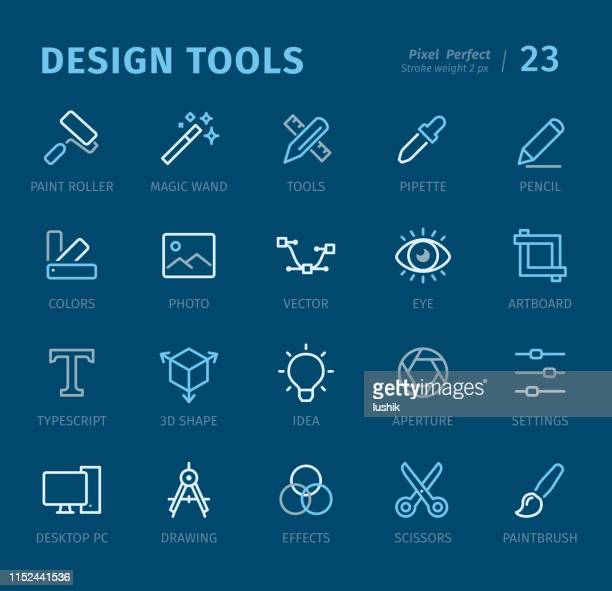 Design Studio - Outline icons with captions