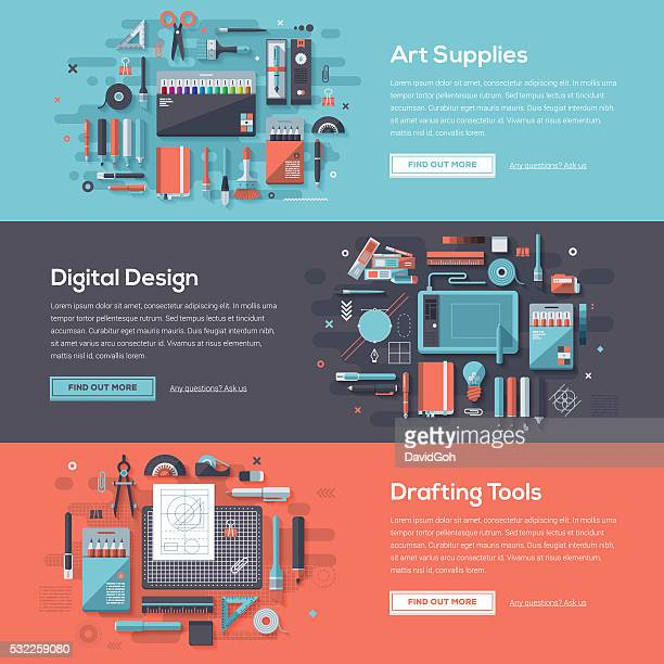 Design Tools Web Banner Set