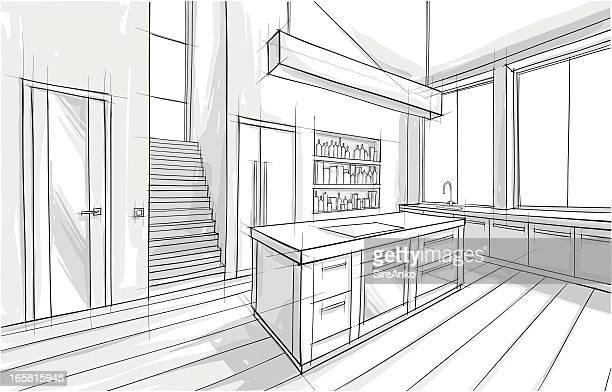 設計 - パース点のイラスト素材/クリップアート素材/マンガ素材/アイコン素材