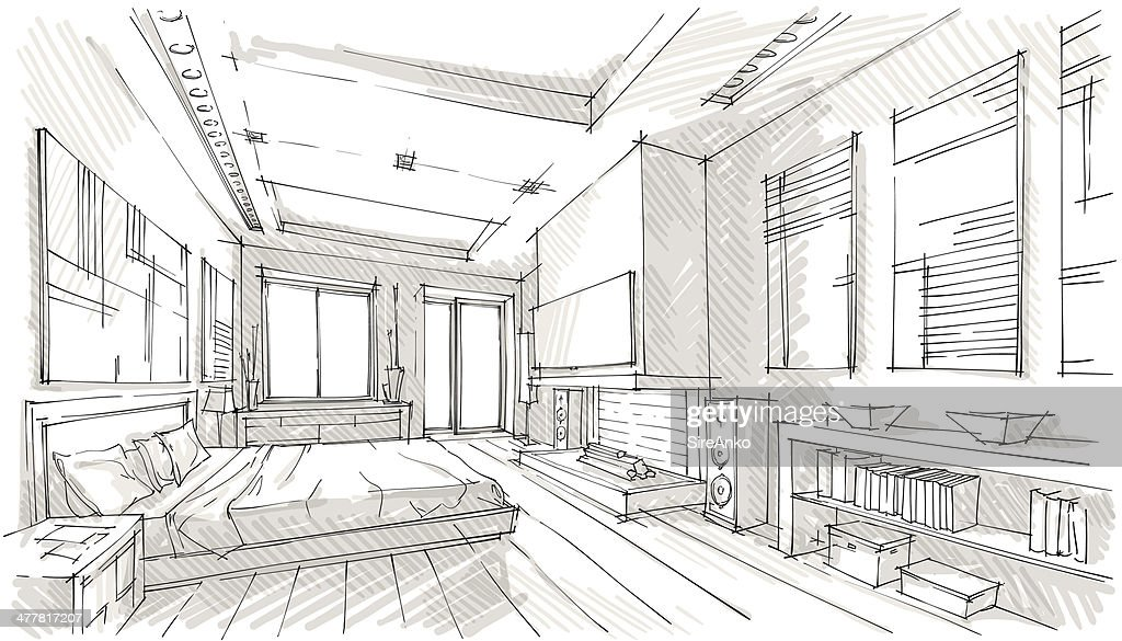 Elegant Une Chambre En Désordre. Le Design