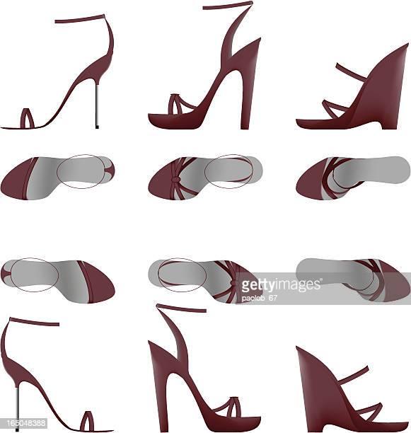 Designer Shoes Set