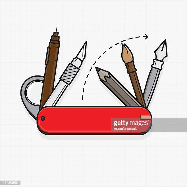 Penknife Stock Illustrations And Cartoons Getty Images