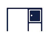 desk icon glyph