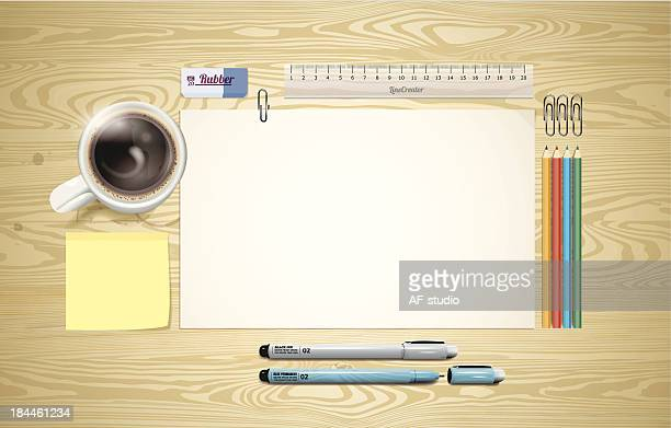 desk ready to work - rubber stock illustrations, clip art, cartoons, & icons