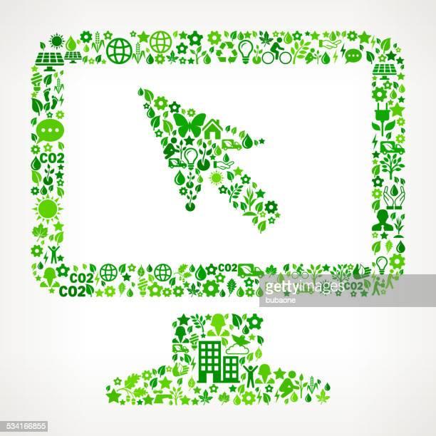 Bureau de Conservation de l'Environnement et Nature motif d'art vectorielles libres de droits