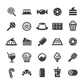 Desserts and Sweet Food Icons - Smart Series