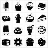 Desserts and Sweets Icons