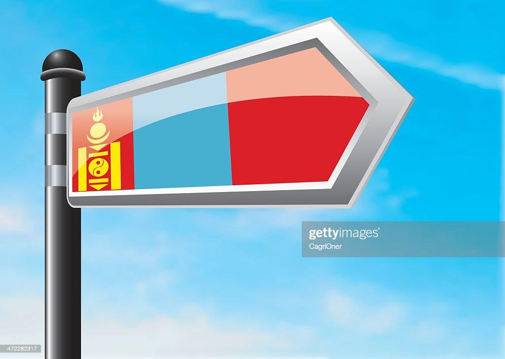 Destino: Mongolia : Ilustración de stock