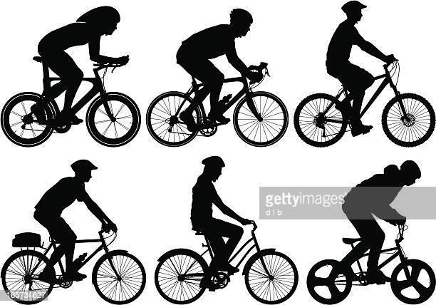 Detaillierte Bike rider
