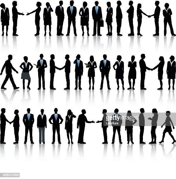 ilustrações, clipart, desenhos animados e ícones de detalhada pessoas de negócios - trabalhador de colarinho branco
