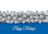 Detailed Christmas Decorations Card