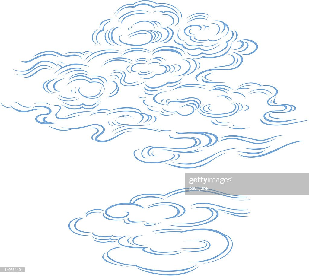 detailed cloud illustration