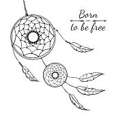 Free download of Dream Catcher vector graphics and