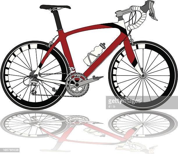 30 Meilleurs Vélo De Course Illustrations Cliparts Dessins