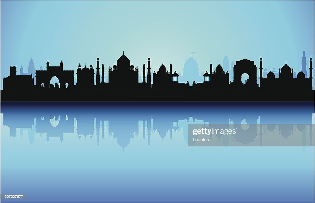 Detailed India Skyline (Complete, Moveable Buildings)