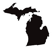 Detailed Map of Michigan State