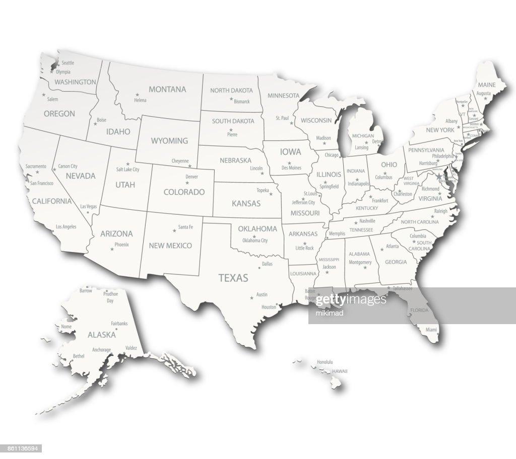 USA Detailed Map