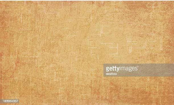 detailed orange grunge vector background - brown stock illustrations