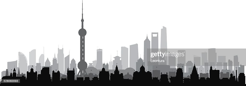 Detailed Shanghai (Complete, Separate Buildings)