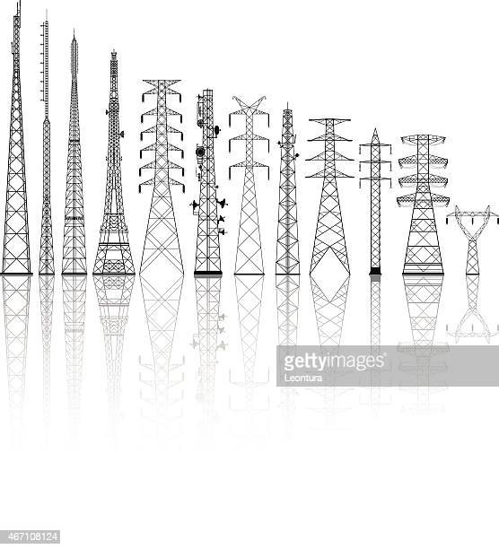 Detailed Telecommunications Towers