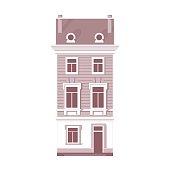 Detailed vintage house