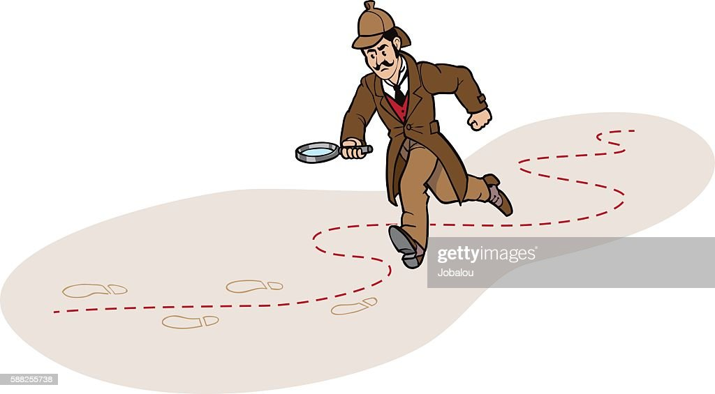 Detective Chasing a Clue