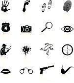 Detective Icons - Black Series
