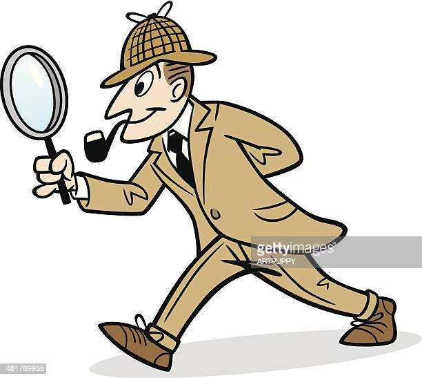 sherlock holmes cartoon images sherlock holmes stock illustrations and cartoons getty 8391