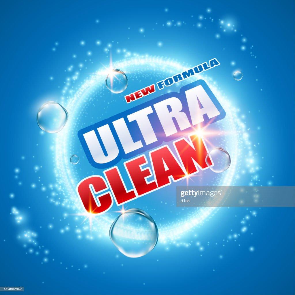 Detergent design template