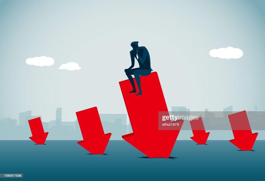 Verschlechterung : Stock-Illustration