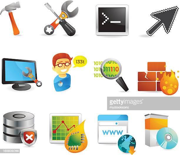 Developer Web Icons