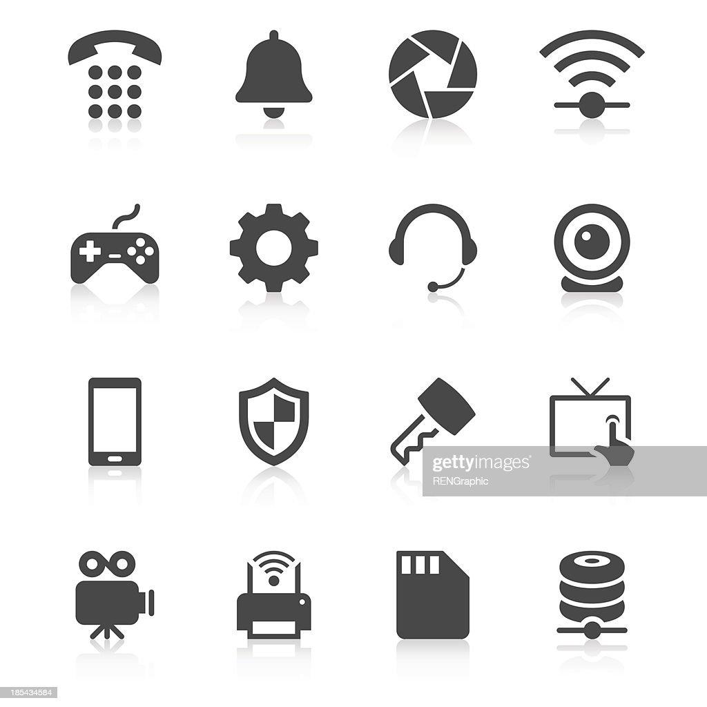 Device Icon Set | Unique Series