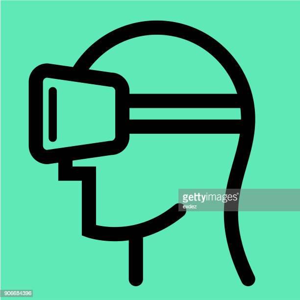 VR device icon