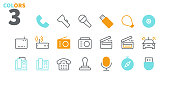 Devices UI Pixel Perfect Well-crafted Vector Thin Line Icons 48x48 Ready for 24x24 Grid for Web Graphics and Apps with Editable Stroke. Simple Minimal Pictogram Part 3-3