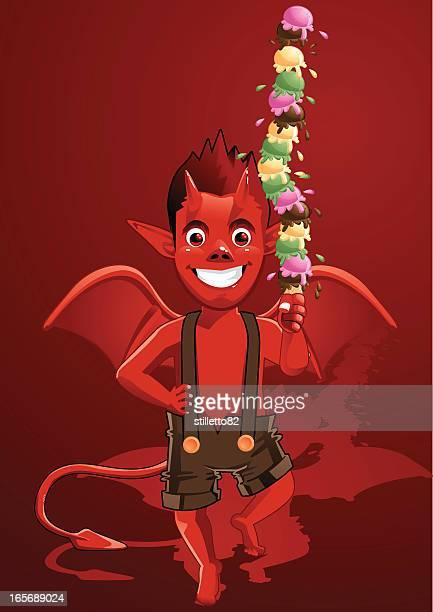 Devil junge & Eis Tower