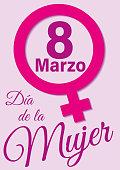 Dia de la mujer ocho de marzo