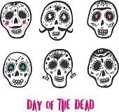 Dia de los muertos. Day of the dead.