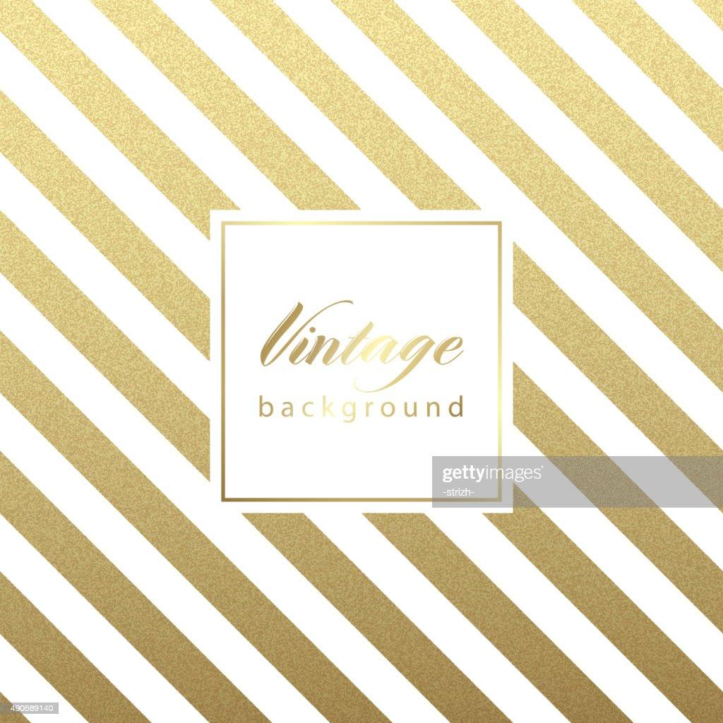 Diagonal Pattern with vintage frame