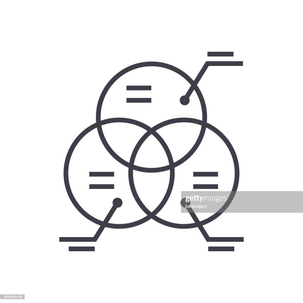 Parts Diagram Icon Trusted Schematics Honda Gx670 Wiring Marketingcircle Vector Line Sign Illustration On Marketing