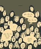 Dialog- cartoon characters