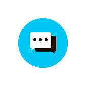 dialog icon .vector