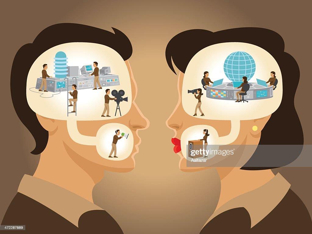 Dialog - Man and Woman