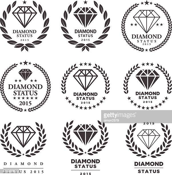 Diamond Endorsement Emblem Set