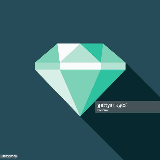 stockillustraties, clipart, cartoons en iconen met diamond plat ontwerp misdaad & straf pictogram - diamant