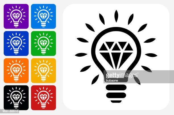 Diamond Idee Symbol Square Buttonset