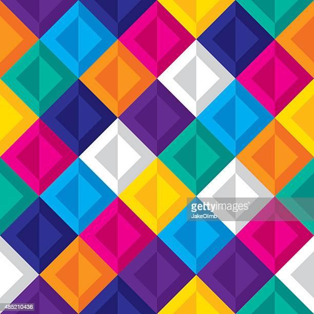 Diamond Pattern Colorful