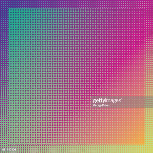 diamond pattern frame background - square stock illustrations
