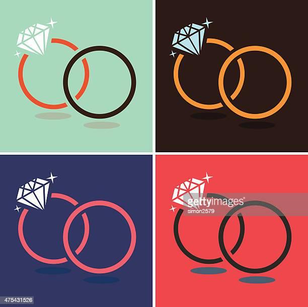Diamond Ring Symbol