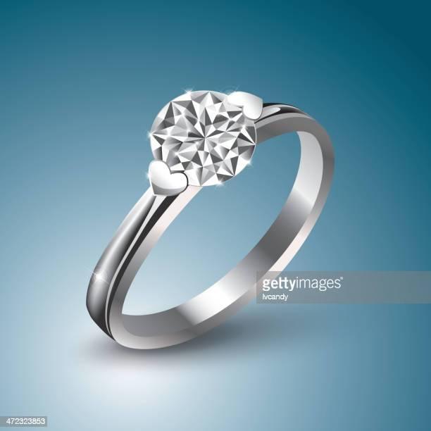 結婚指輪のイラスト素材と絵